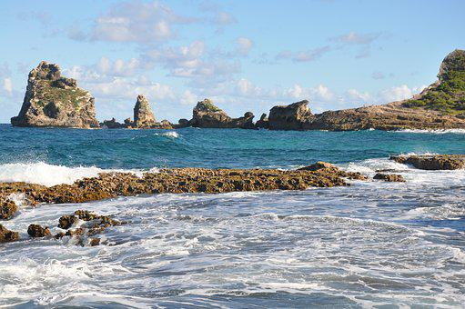 Sea, Body Of Water, Side, Ocean, Guadeloupe, Island