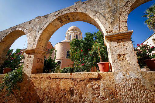 Architecture, Antiquity, Old, Travel, Arch, Monastery