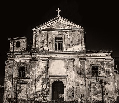 Architecture, Old, Building, Outdoors, Church