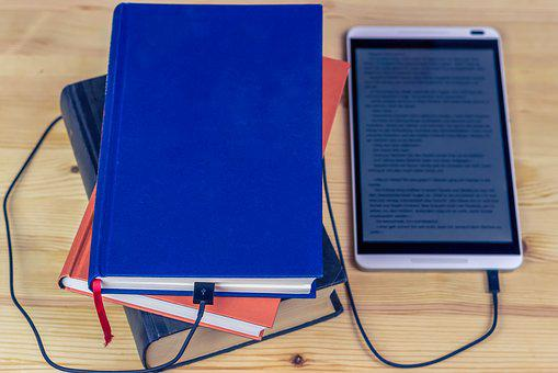 Ebook, Tablet, Touch Screen, Read, Book, Mobile