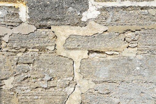 Stone, Wall, Pattern, Concrete, Brick, Rock, Dirty