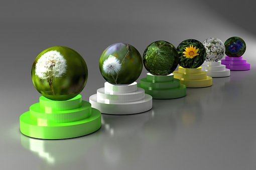 Sphere, Color, Round, Approach