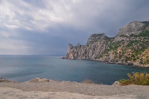 Sea, Coast, Nature, Travel, Sky, Landscape, Seascape