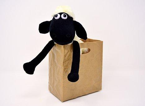 Sheep, Stuffed Animal, Teddy Bear, Funny, Soft Toy