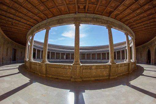 Granada, Alhambra, Monuments, Spain, Andalusia
