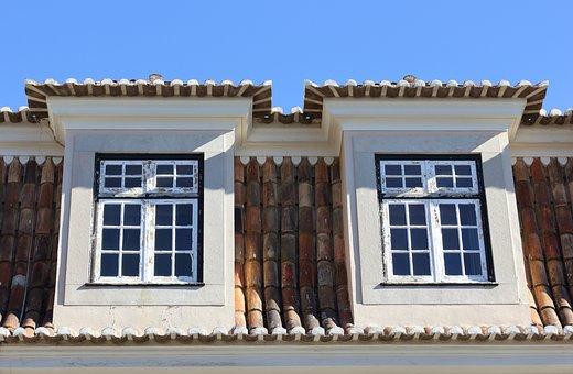 Portugal, Lisbon, Tiles, Architecture, Window, House