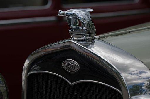 Auto, Transport System, Chrome, Shiny, Vehicle, Classic