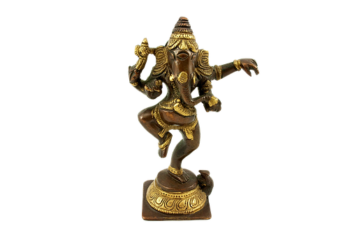 Figurine, Bronze, God, Deity, India, Wisdom, Well-being