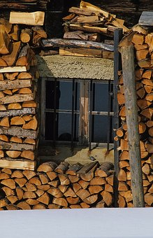 Industry, Tree Log, Wood, Firewood, Wooden