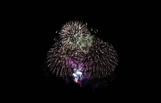 Fireworks, Celebration, Flare-up, Rocket, Background