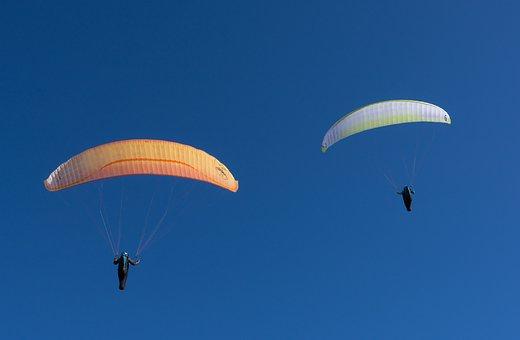 Parachute, Air, Flight, Sky, Paraglider, Fly