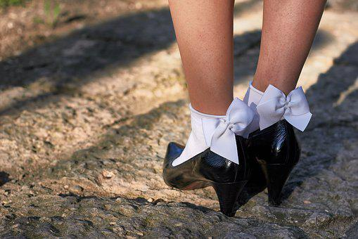 Feet, Legs, Shoes, Girl, Colorful, Models, Woman, Rock