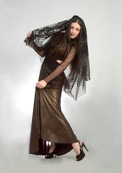 Woman, Fashion, Young, Charm, Nice