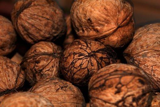 Nut, Food, Walnut, Nutshell, Healthy, Fruit, Seed, Dry