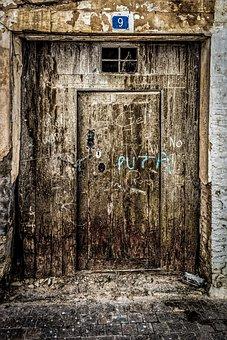 Wood, Old, Door, Abandoned, Wooden, Rustic