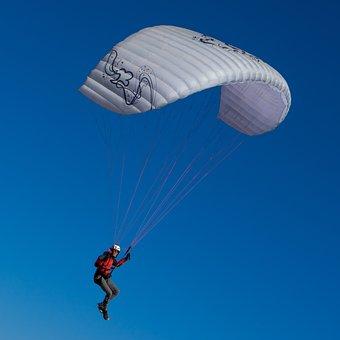 Parachute, Parachute Fly, Air, Fly, Sky, Paragliding