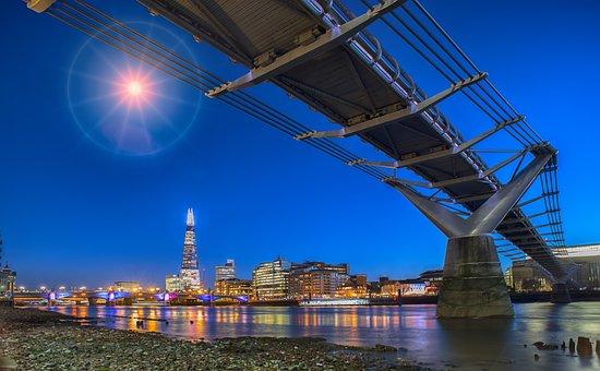 Sky, Architecture, Water, Bridge, Travel, Landmark