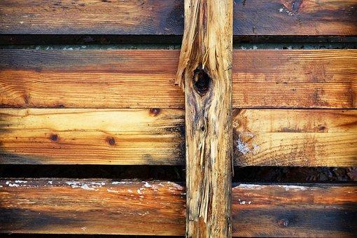 Wood, Plank, Beam, Grain, Knot, Blonde Wood, Texture