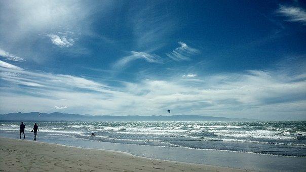 The Body Of Water, Nature, Sea, Heaven, Beach