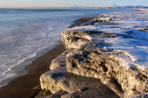 The Pacific Ocean, Seascape, Wave, Coast, Beach, Sand
