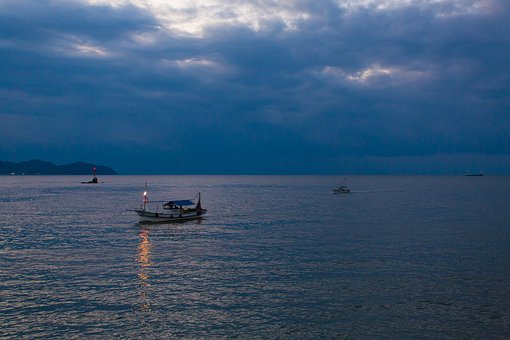 Waters, Sea, Boats, Coast, Transportation, Landscape
