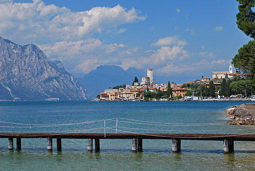 Garda, Italy, Malcesine, Lake, Europe, Travel, Vacation