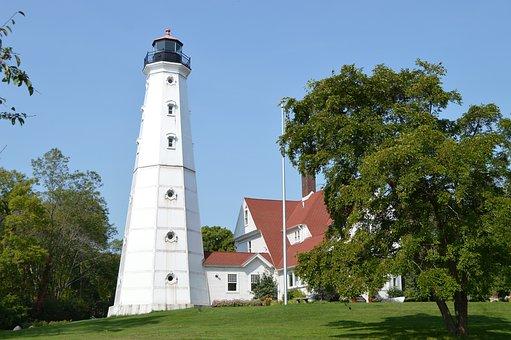 Lighthouse, Milwaukee, United States, Tourism, Travel