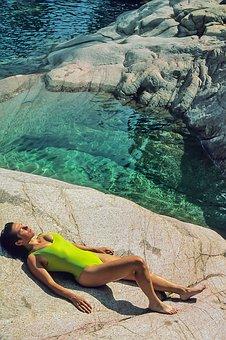 Water, Nature, Summer, Travel, Vacation, Woman