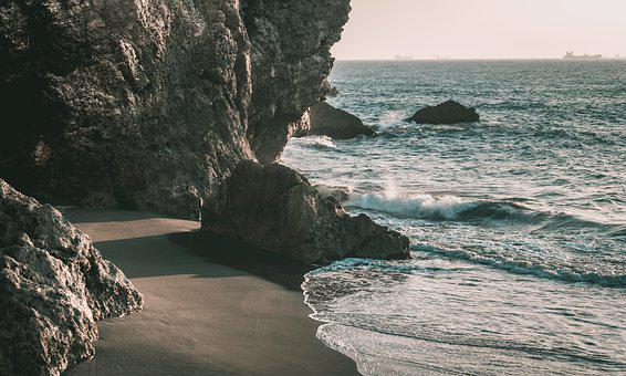 Waters, Sea, Nature, Coast, Rock, Beach, Outdoor, Bay