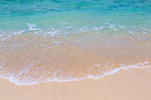 Sand, Beach, Waters, Coast, Sea, Wave, Island