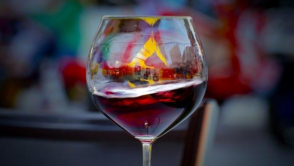 Glass, Wine, Alcohol, Drink, Bar, Party, Celebration
