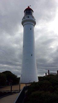 Lighthouse, Tower, Sky, Architecture, Travel, Landmark
