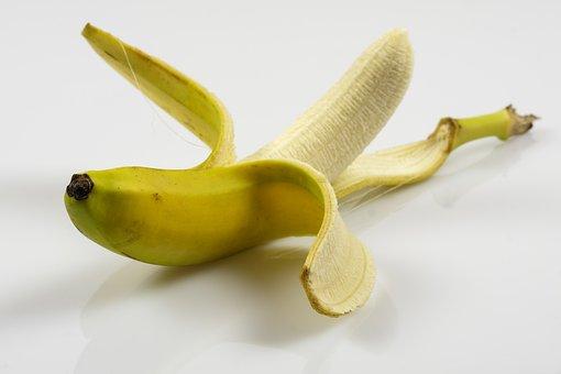 Banana, Shell, Banana Peel, Fruit, Calcium, Food