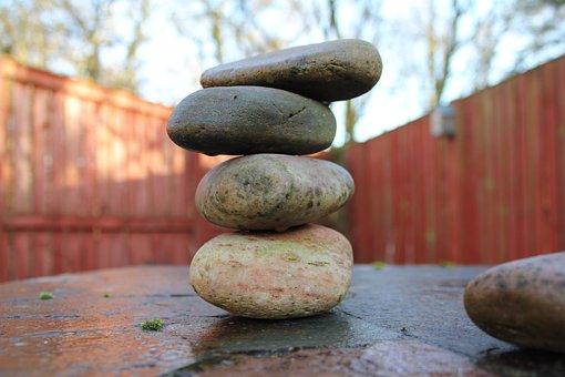 Zen, Stability, Balance, Stone, Cobblestone, Pile