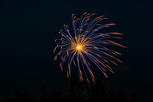 Fireworks, Flare-up, Celebration, Explosion, Festival