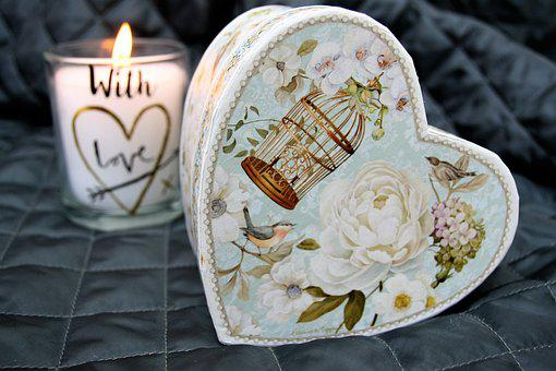 Heart, Gray, The Ceremony, Romantic, Symbols, Happiness