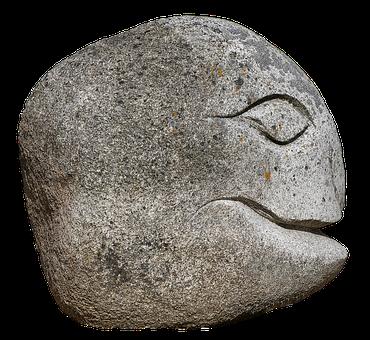 Face, Head, Granite, Steinkopf, Gnome, Figure