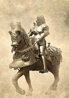Armour, Knight, Horse, Historic, Museum, Medieval