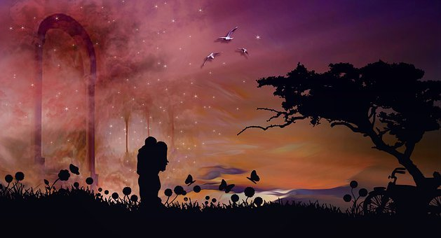 Emotions, Couple, In Love, Love, Romantic, Romance, Sky