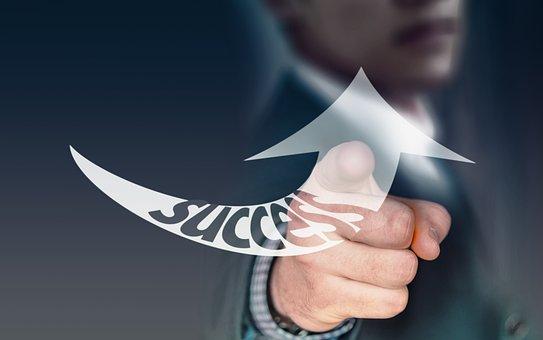 Arrow, Success, Trend, Development, Career, Businessman