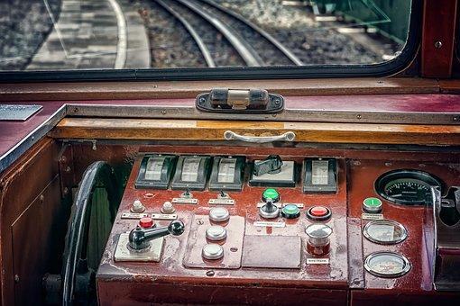 Train, Control Desk, Transport, Rail Traffic