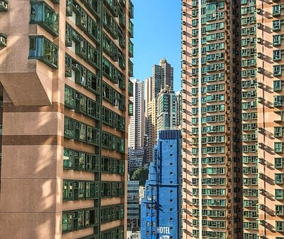 Architecture, Building, City, Tall, Apartment