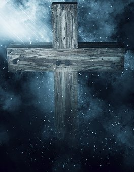 Cross, Darkness, Secret, Background, Light, Symbol