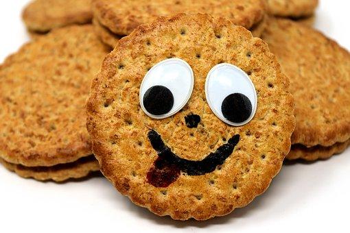 Joker, Funny, Cookies, Delicious, Food, Sweetness