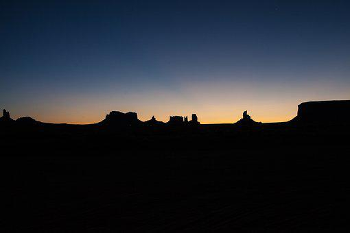 Sunset, Silhouette, Dawn, Sky, Dusk, Outdoors
