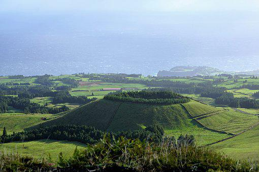 Nature, Landscape, Hill, Panorama, Agriculture, Field