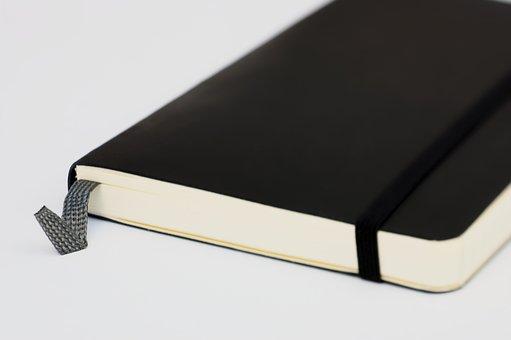 Moleskine, Agenda, Notebook, Education, Isolated