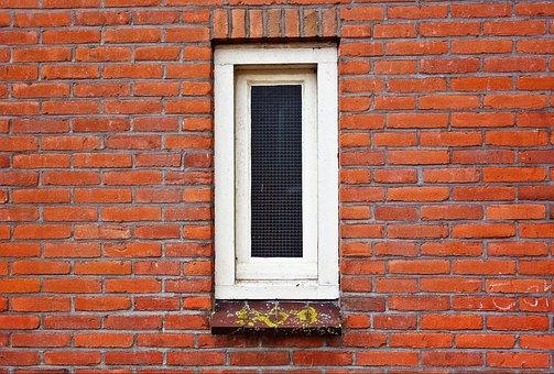 Window, Glass, Casing, Narrow Window, White Window