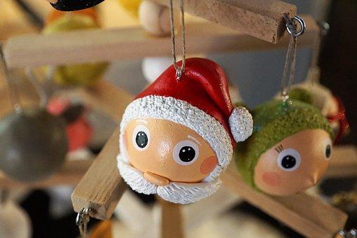Toys, Christmas, Ornament, Wood, Celebration, Child
