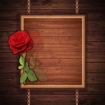 Card, Design, Texture, Background, Reason, Red Rose